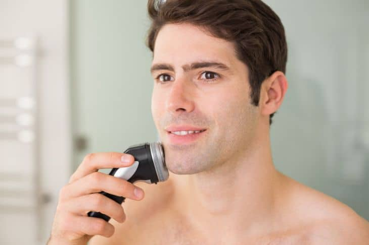 electric razor for sensitive skin