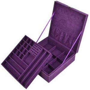 KLOUD City Purple Jewelry Organizer