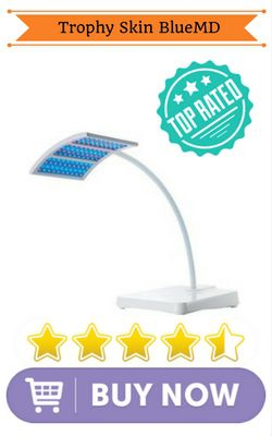 Blue light therapy device