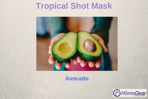 Tropical Shot Mask