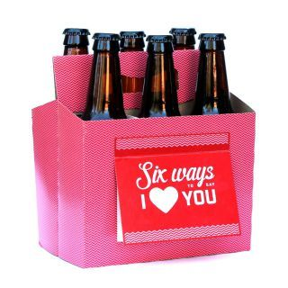 Beer Valentines Card