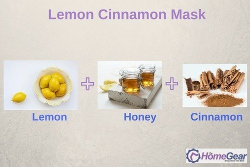 Lemon Cinnamon mask