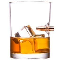 Real Bullet whiskey glass