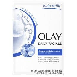 Olay makeup remover wipes