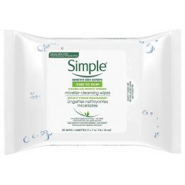 Simple Kind to Skin wipes